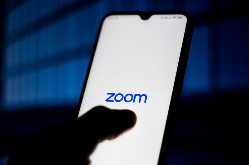 Zoom App Logo iPhone Screen