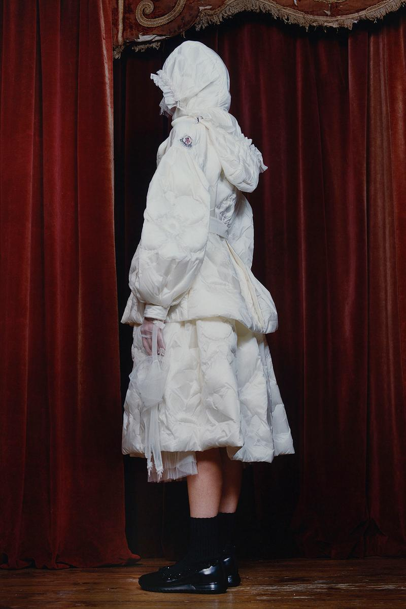 4 moncler simone rocha fall winter collaboration dresses skirts jackets outerwear fashion