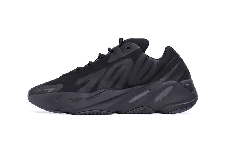 adidas kanye west yeezy boost 700 mnvn sneakers triple black colorway shoes footwear sneakerhead