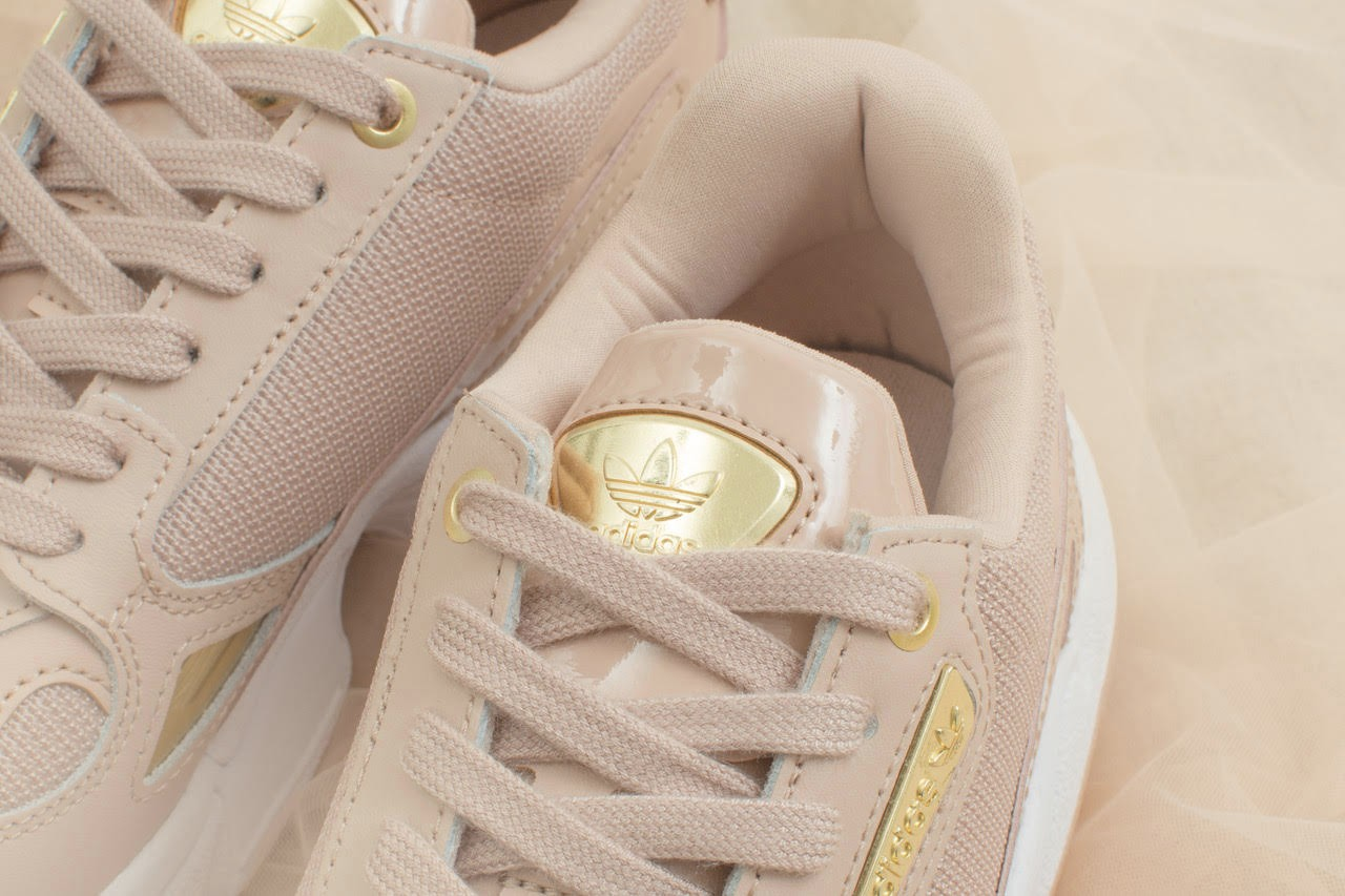 adidas falcon rose gold