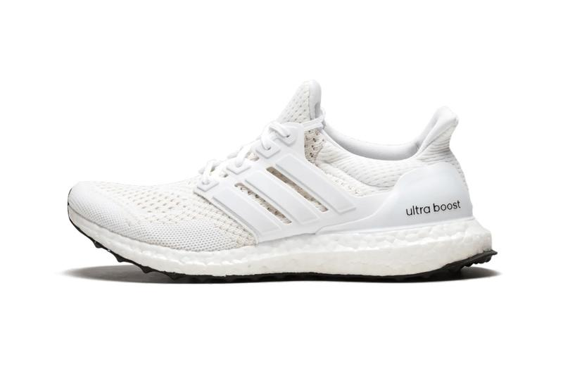 adidas ultraboost 1 0 sneakers triple white colorway shoes footwear sneakerhead