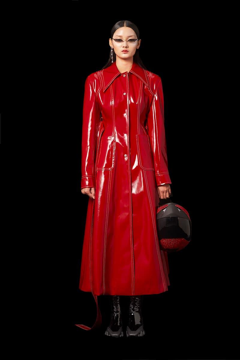 angel chen fall winter lookbook digital virtual fashion show shanghai