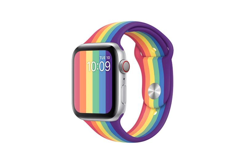 Apple Watch Pride Edition Sport Band Nike Rainbow