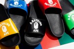 Picture of BAPE Preps for Summer With New College Slide Sandals