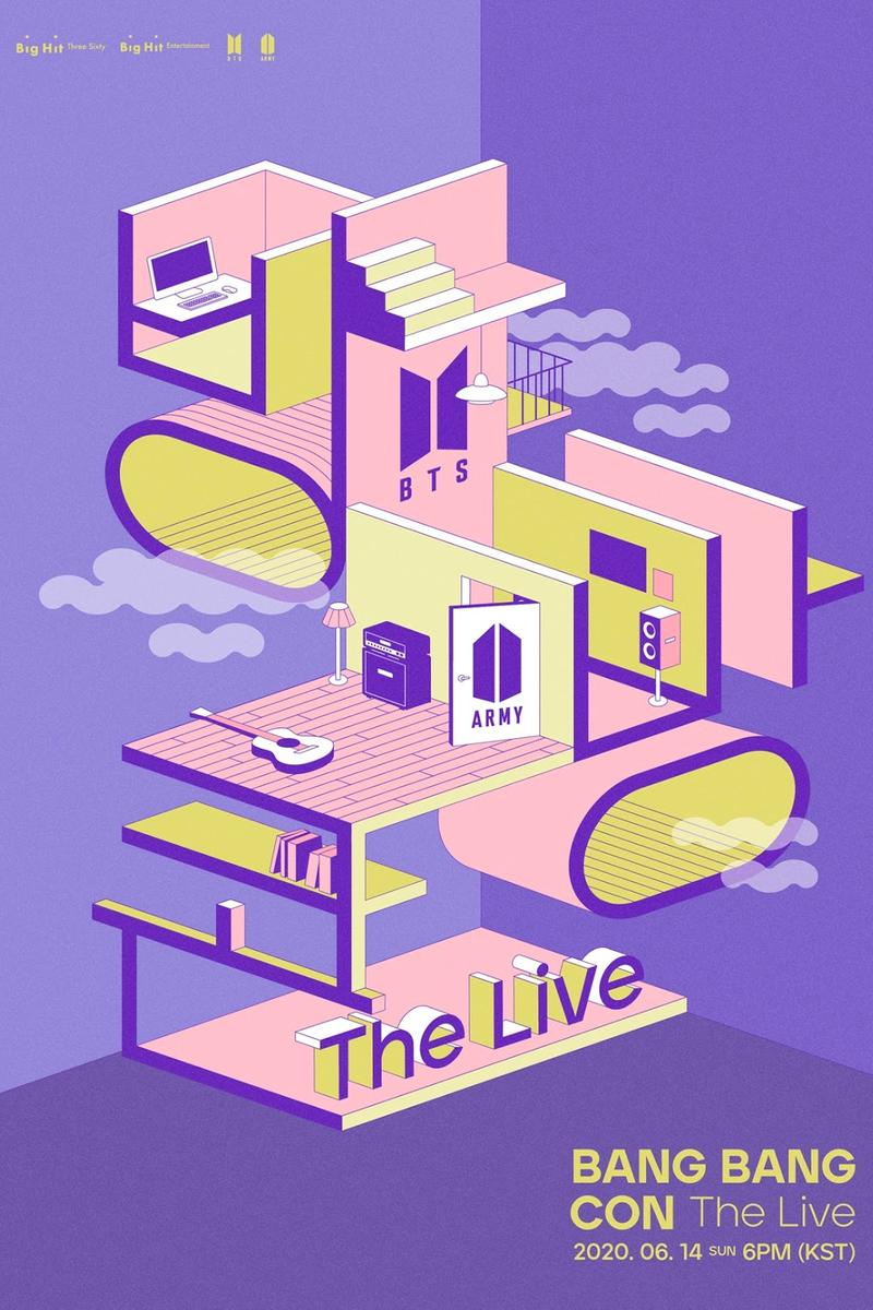 BTS Bang Bang Con The Live Concert ARMY Virtual Online K-Pop Livestream Date Info
