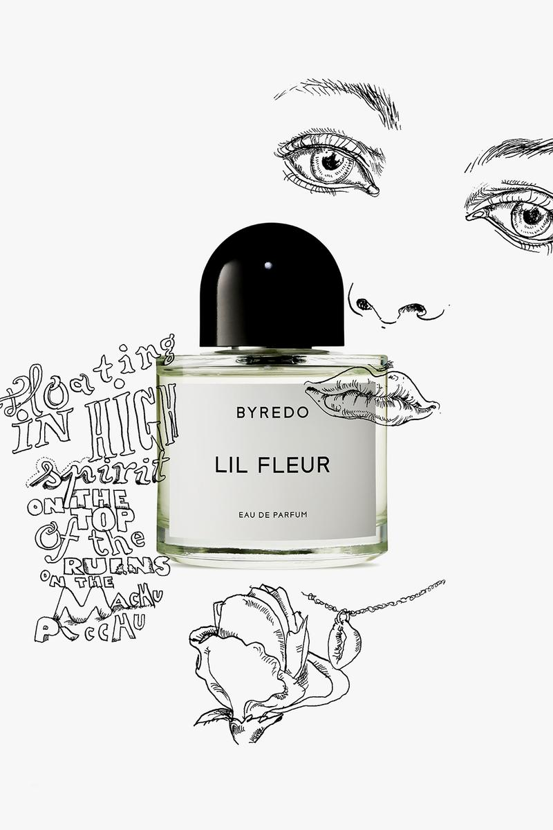 byredo lil fleur perfume fragrance eau de parfum floral scent campaign