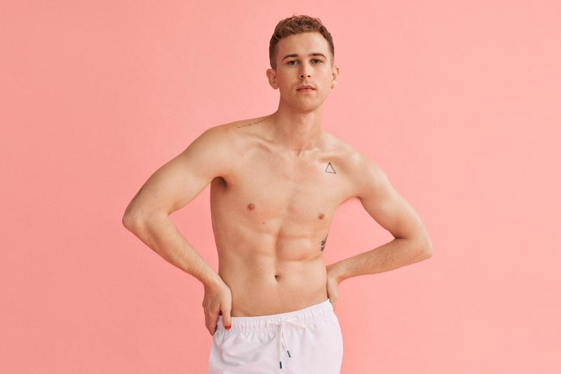 calvin klein pride month collection campaign lgtbq gia woods tommy dorfman underwear jeans sweater