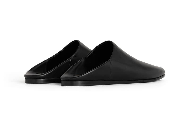 celine jacno babouche unisex flats slippers black white snakeskin designer shoes
