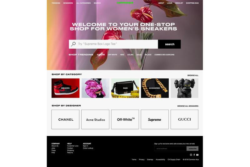 Common Ace Women's Female Sneaker E-Commerce Platform Sophia Chang Romy Samuel Website Launch Interview