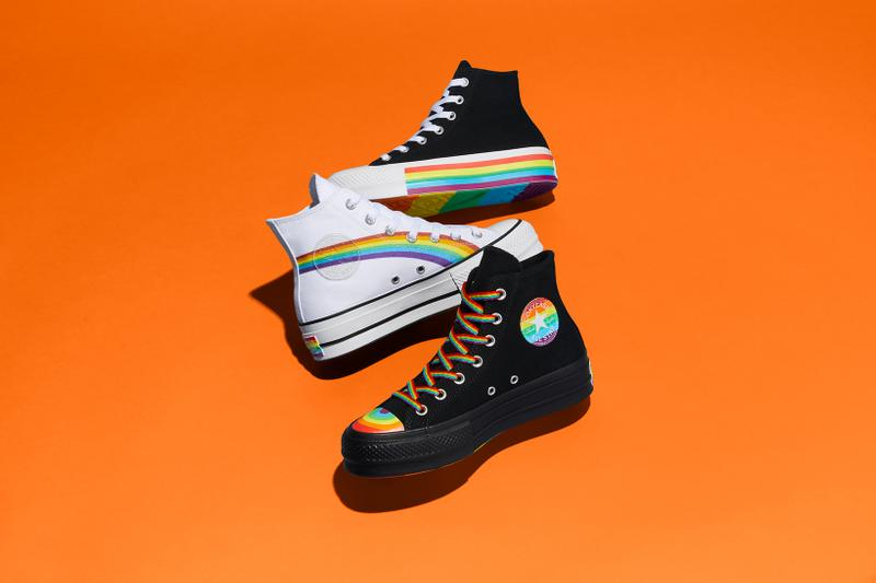converse pride month lgbtq collection chuck 70 taylor all star high low top