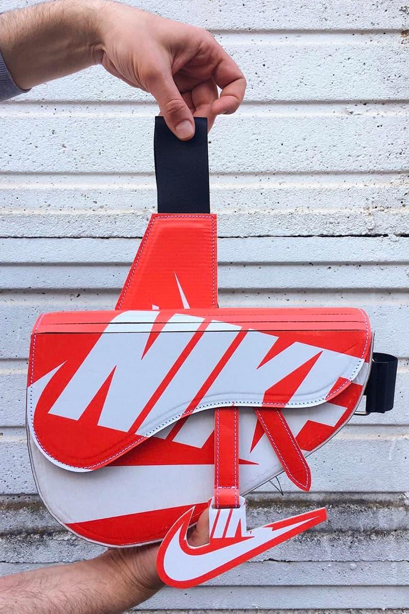 Dior Saddle Bag Nike Shoebox @camera60studio Matteo Bastiani Chiara Rivituso