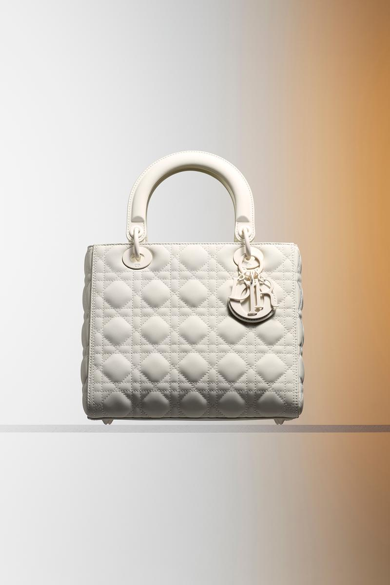 Dior Ultra-Matte Collection Bags Lady Dior White