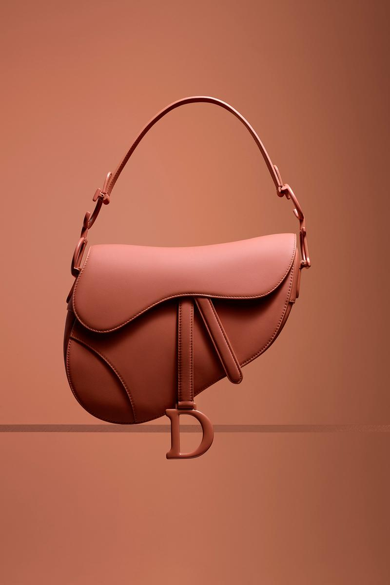 Dior Ultra-Matte Collection Bags Saddle Pink