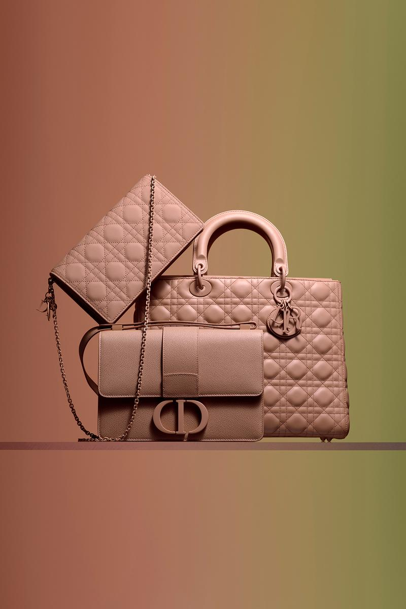 Dior Ultra-Matte Collection Bags Lady Dior Pink