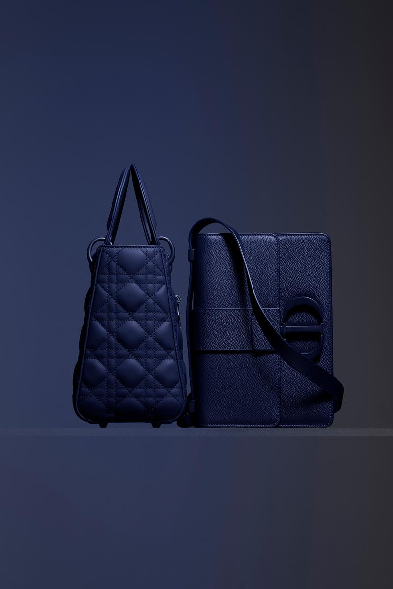 Dior Ultra-Matte Collection Bags Lady Dior Blue