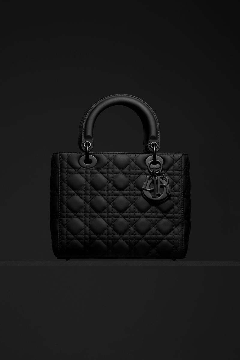 Dior Ultra-Matte Collection Bags Lady Dior Black
