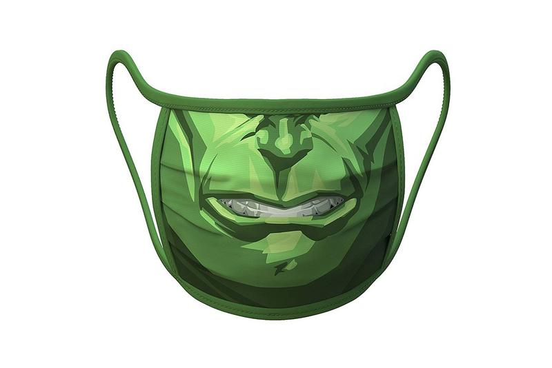 Disney Face Mask Coronavirus COVID-19 Incredible Hulk