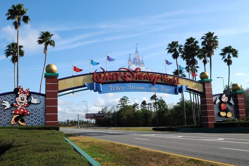 Disney World Theme Park Florida Entrance Sign Logo