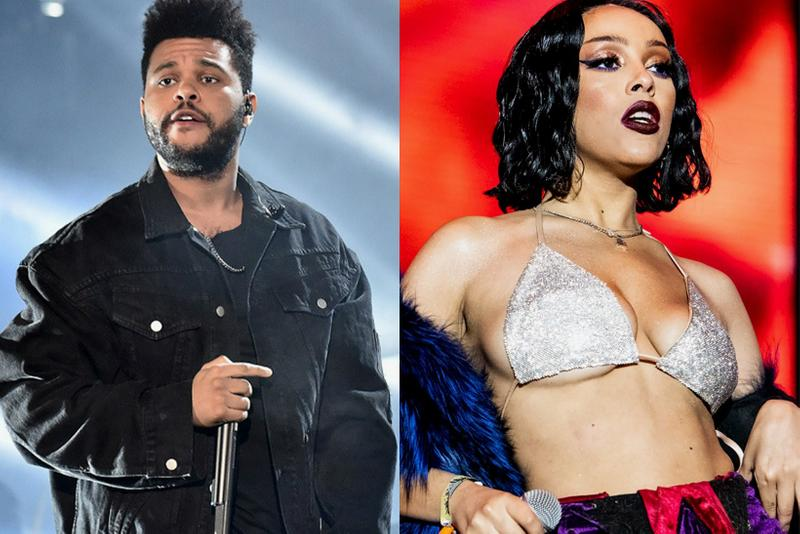 doja cat the weeknd in your eyes remix collaboration song track music artist performer