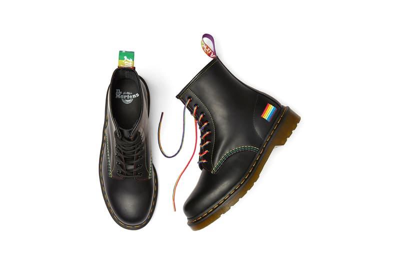 Dr. Martens 1460 Pride Boot Rainbow Black