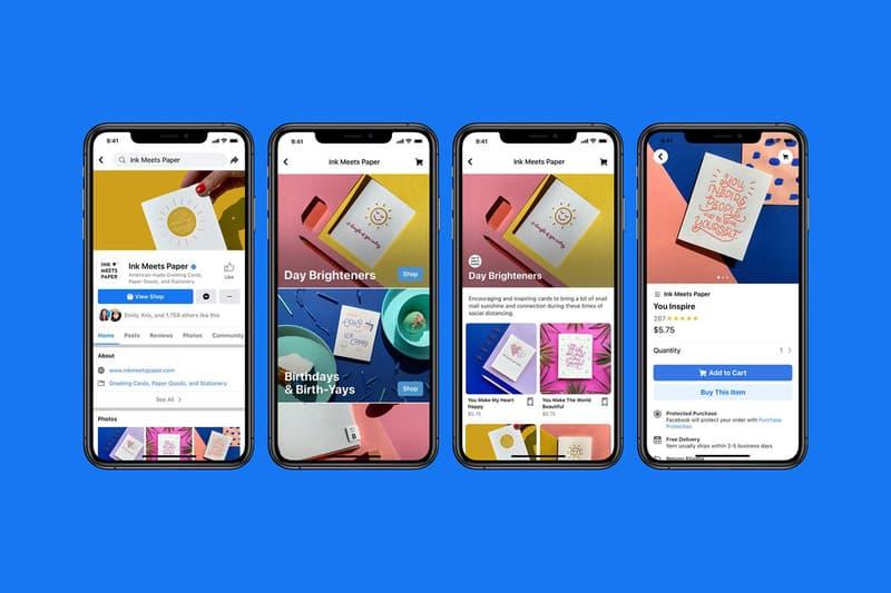 Facebook Shops Feature App Mobile Launch