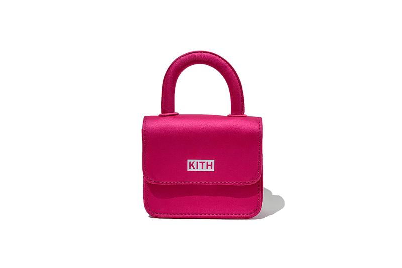 KITH Women Gelareh Mizrahi Mini Bag Pink Top Handle Collaboration