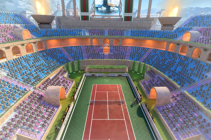 Gucci Tennis Clash Sports Video Game Outfits T-Shirt Tracksuit Racquet