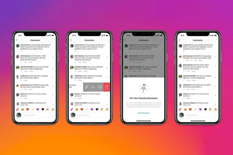 Instagram New Comment Feature Online Bullying Delete Block Restrict Pin App
