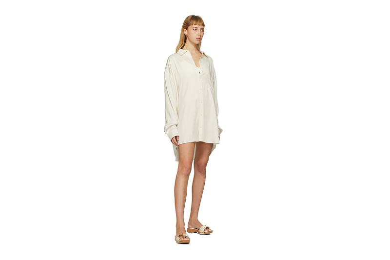 Jacquemus SSENSE Loungewear Collection La Chemise D'Homme Shirt Dress
