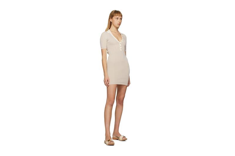 Jacquemus SSENSE Loungewear Collection La Robe Polo Dress