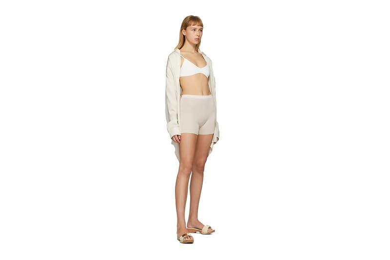 Jacquemus SSENSE Loungewear Collection Le Bandeau Valensole Bra