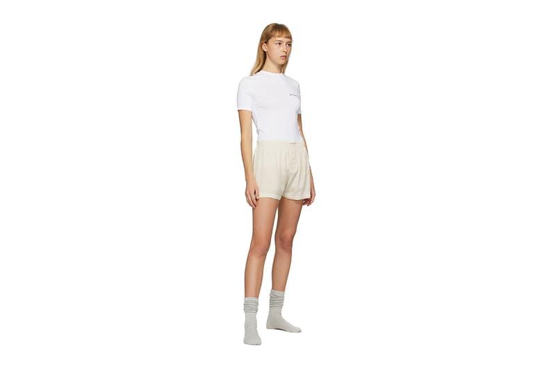 Jacquemus SSENSE Loungewear Collection T-Shirt White