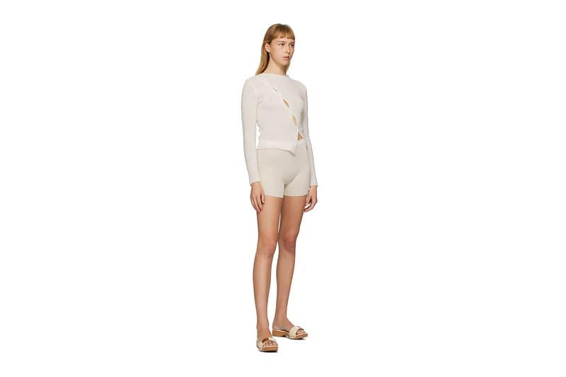 Jacquemus SSENSE Loungewear Collection La Maille Pau Sweater