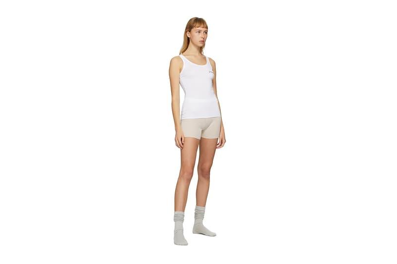 Jacquemus SSENSE Loungewear Collection Tank Top White