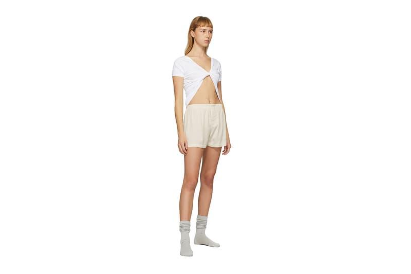 Jacquemus SSENSE Loungewear Collection Le Shirt Sprezza Crop Top