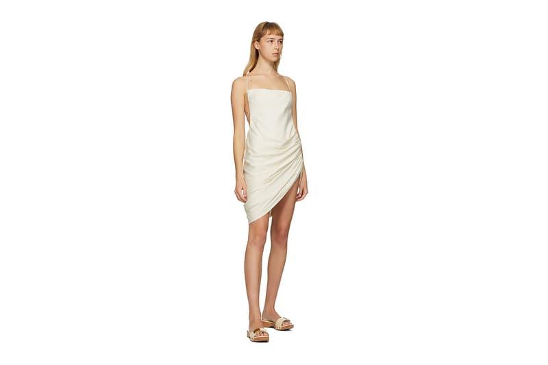 Jacquemus SSENSE Loungewear Collection La Robe Saudade Dress