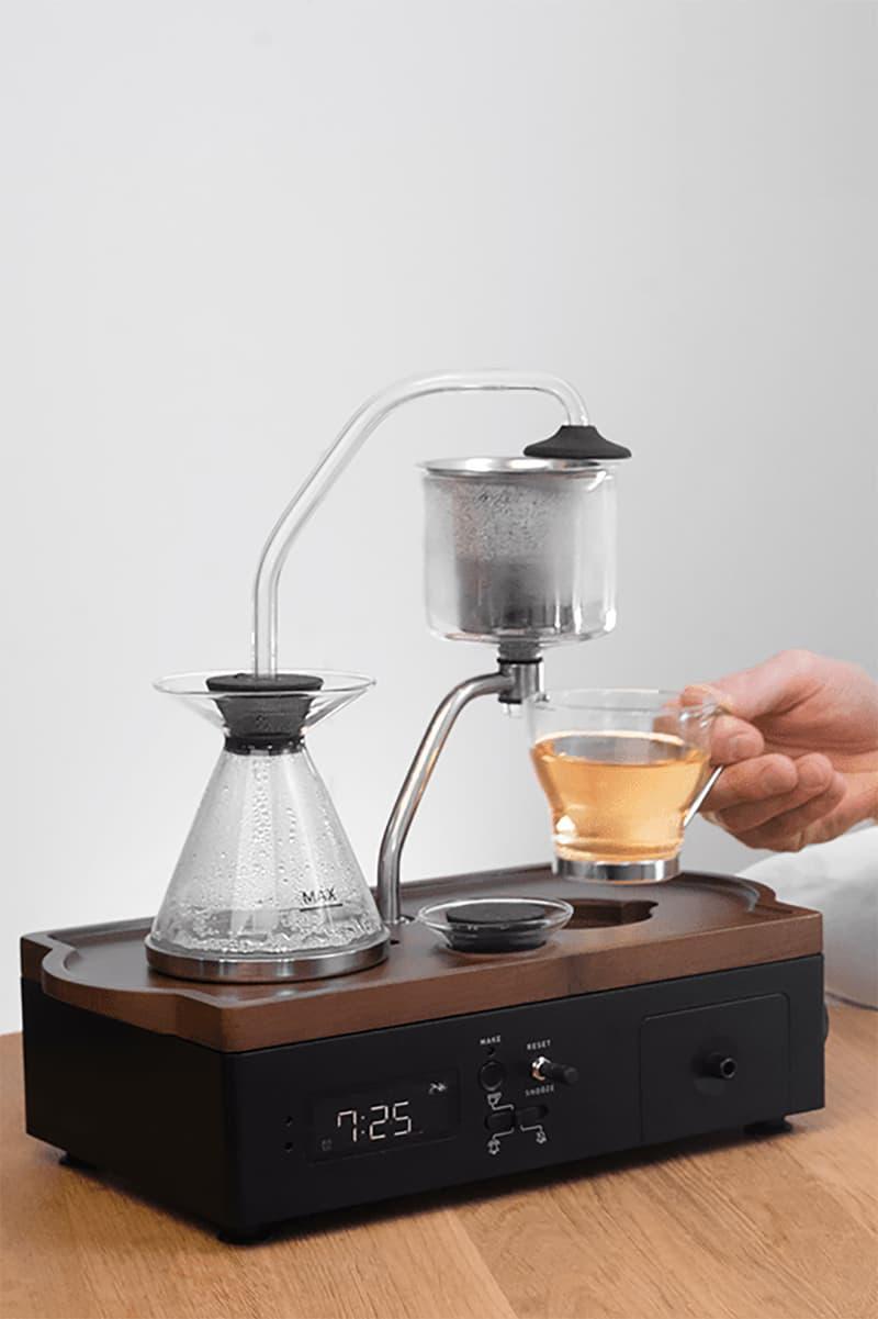 joy resolve barisieur immersion edition coffee tea brewer alarm clock homeware