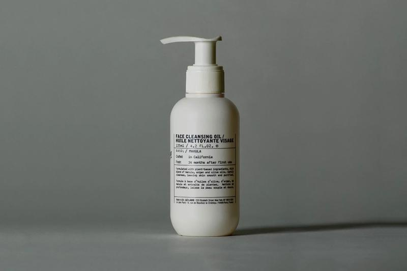 le labo basil face cleansing oil lotion moisturizer skincare vegan plant based