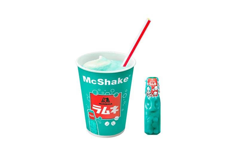 mcdonalds japan morinaga collaboration mcshake ramune soda flavor drinks beverage