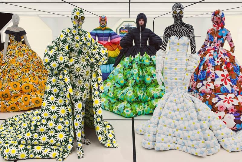 Collaborazione alla collezione di alta moda di Richard Quinn Moncler