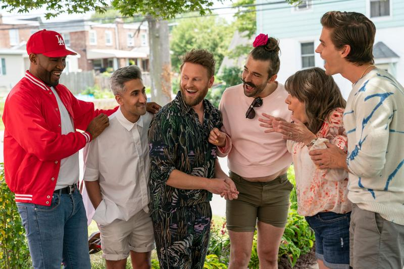 Queer Eye Season 5 Netflix Karamo Tan Bobby Jonathan Antoni Still