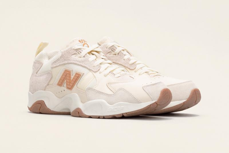new balance 650 no vacancy inn collaboration stockx ipo auction beige white brown shoes sneakerhead footwear