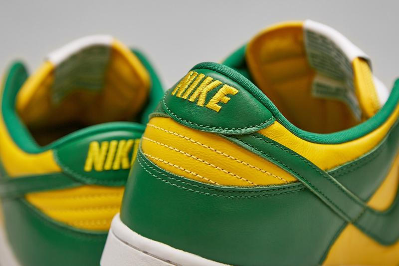 Nike Dunk Low SP Brazil Varsity Maize Pine Green Yellow Sneakers Release Date Price