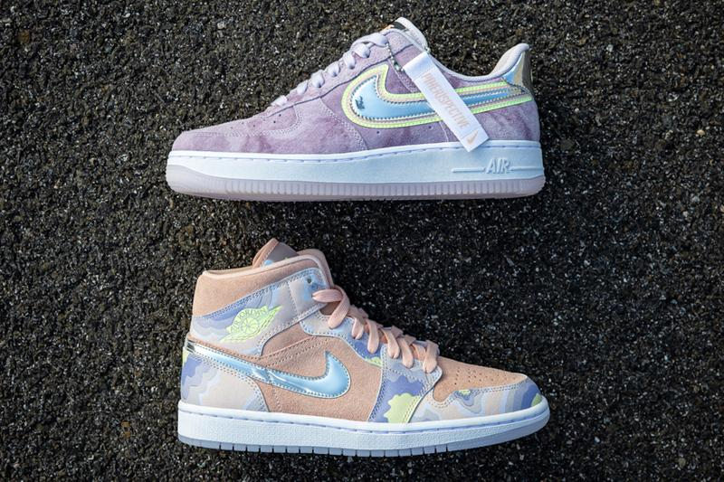Nike Air Force 1 Air Jordan 1 'P(HER)SPECTIVE' Pack Sneakers Trainers