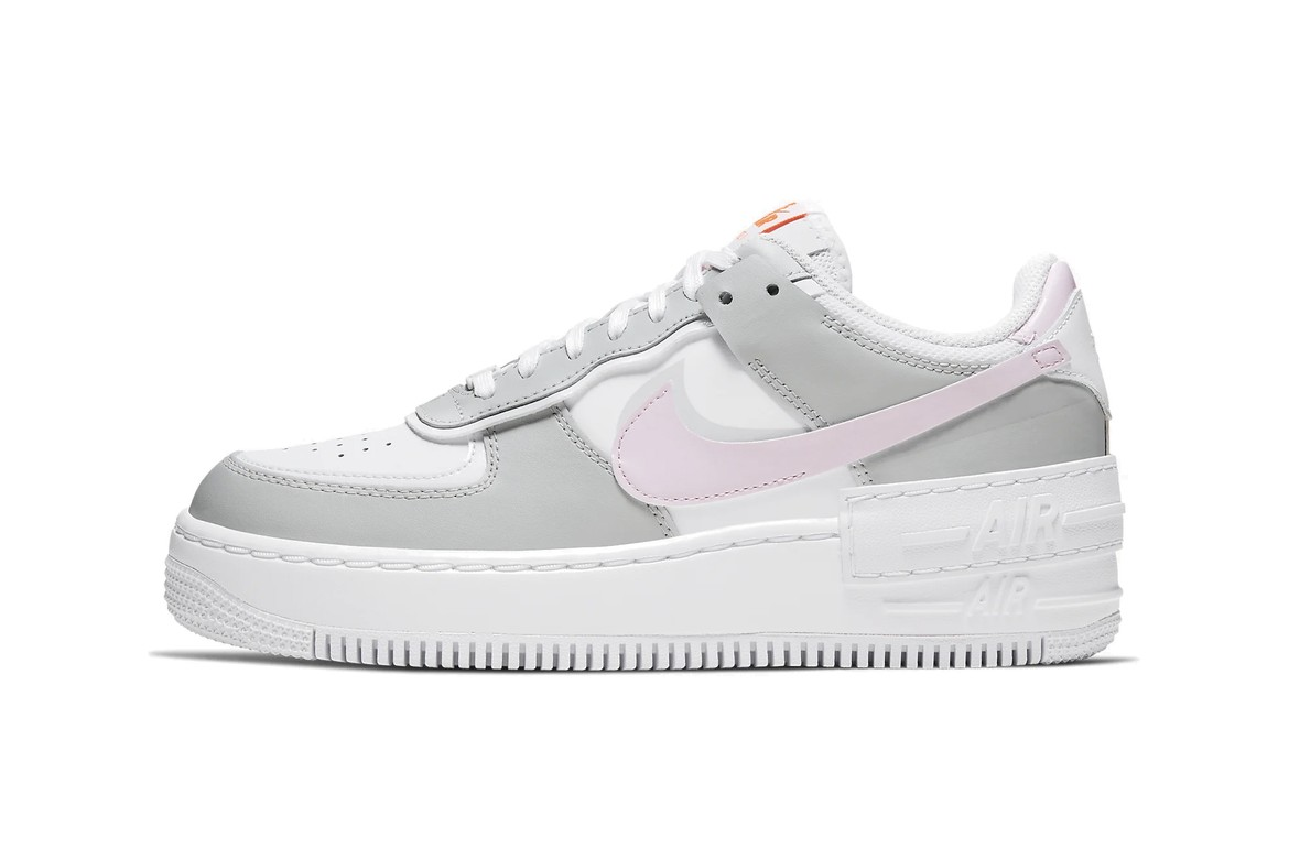 Nike Air Force 1 Shadow Photon Dust Pink Foam Hypebae