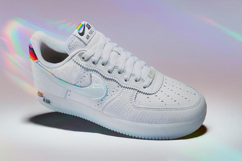 Nike BeTrue Pride Collection Air Force 1 Rainbow Month