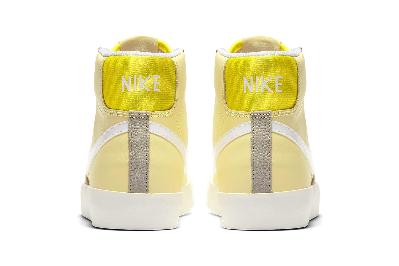 Nike Blazer Mid '77 Pastel Yellow/White