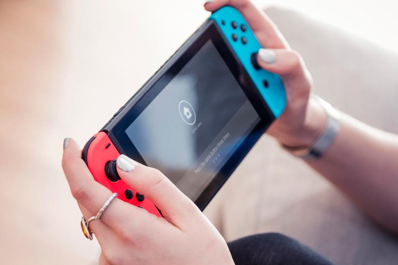 Nintendo Switch Console Game Red Blue
