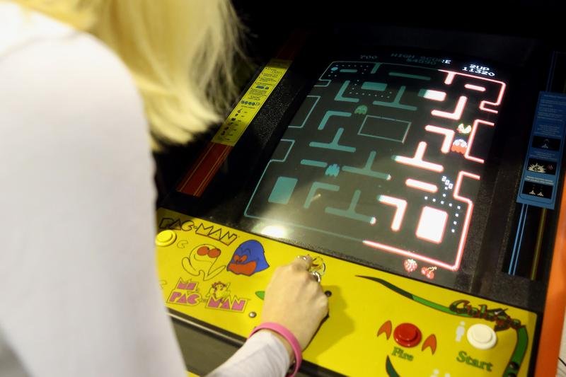 pacman live studio online game twitch custom mazes community compete online