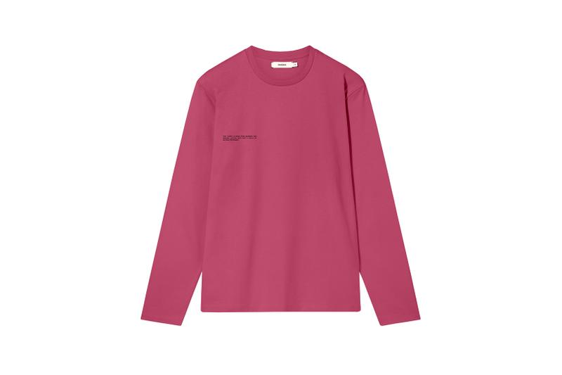 Pangaia Seaweed Family Collection Long Sleeve Cherry
